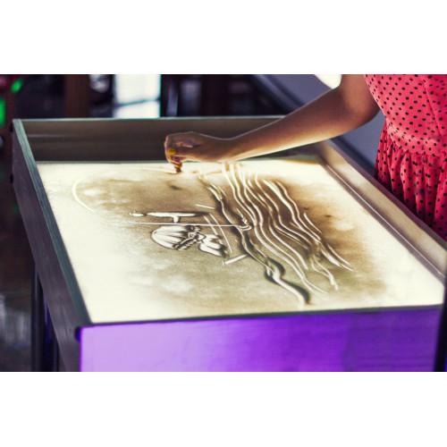 Рисование песком - Sand Art