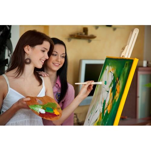 Мастер класс по рисованию масляными красками