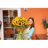 Мастер-класс по флористике от цветочной мастерской