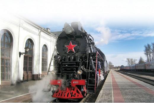 Путешествие на ретропоезде! Санкт-Петербург