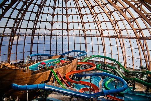 Посещение аквапарка ПИТЕРЛЭНД в Санкт-Петербурге