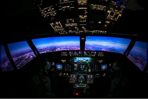 Авиатренажер Боинг 737