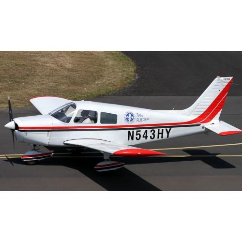 Тренировочный полет на самолете  с возможностью управления