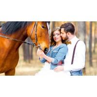 Сертификат на катание на лошадях для двоих